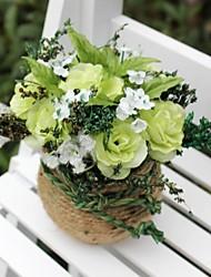 décoration de mariage vert décoration florale artificielle décoration de la maison
