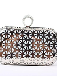 Women's Wheel Texture with Crystal Buckle Evening Handbags / Clutches (More Colors)