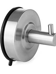brossé salle de bains WC ventouse en acier inoxydable seule couche et patère, a6260