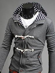 Kapuzenjacken & Sweatshirts ( Baumwolle ) Langarm - Reine - Langarm - Herren