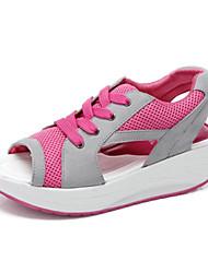 Sandali scarpe da tennis pattini di modo delle donne faux scarpe di camoscio più colori disponibili