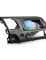 "7 ""2 din tela de toque carro dvd player para honda civic 2006-2011 com bluetooth, 3G, GPS, ipod, rds, swc, atv"