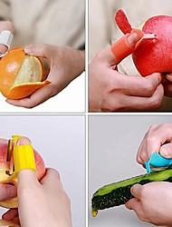 Удобный нож для чистки цитрусов (случайный цвет)