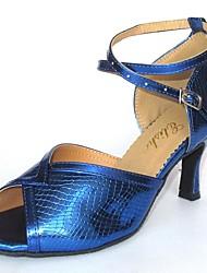 Latin Customizable Women's Sandals Leatherette Dance Shoes