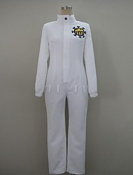 One Piece Trafalgar Law the Heart Pirates Uniform Leotard Cosplay Costume