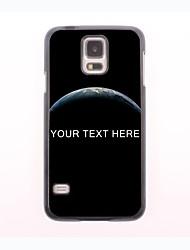 personalisierte-Tasche - Dark Planet Design-Metall-Fall für Samsung-Galaxie s5