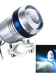Merdia U3 9-12W 1200LM 6500K 1SMD LED Blue Light Laser Gun /Spot Bulb /Angel Eyes for Motorcycle (1Piece /12V-60V)