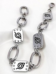 Naruto  Alloy Bracelet Cosplay Accessory