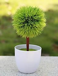 aiguille de pin de décoration de mariage arbre artificiel décoration de la maison de décoration