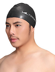 Yingfa Unisex Waterproof Anti-Slip Ear Protection Hair Protection Swimming Cap