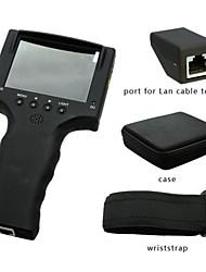 """3,5 """"TFT LCD de alta batería dvr prueba probador de vídeo de cámaras de seguridad cctv monitor"""