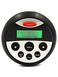 resistente al agua marina receptor estéreo de audio bluetooth am / fm, usb&entrada auxiliar, salida RCA para atv motocicleta, yate, sauna, spa