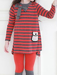 Girl's Clothing Set Cotton Winter / Spring / Fall