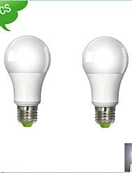 2 pcs DUXLITE E26/E27 9 W 1 COB 850 LM Cool White A LED Filament Lamps AC 100-240 V