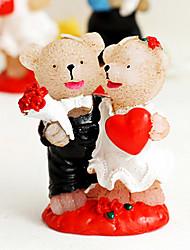 matrimonio sposi candela romantica