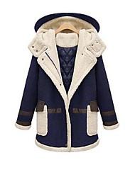 europeu forma elegante casaco barato das mulheres web