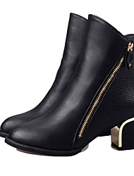 Zhuoyue Women's Fashion Tine Thick Heel Boots