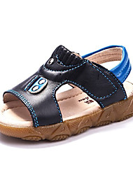 Baby Shoes - Casual - Sandali - Di pelle - Nero / Blu / Marrone