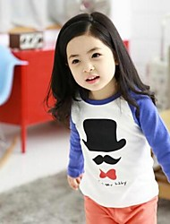 Girl's Bear Piece Fitted Clothing Sets