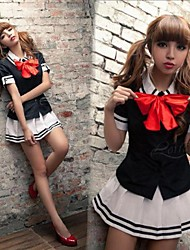 Cute College Students Fresh Wind School Uniforms