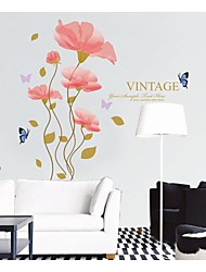 Wall Stickers Wall Decals, Style Bloom Of Happiness PVC Wall Stickers