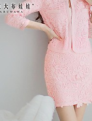 Pink Doll® Women's Piping Lace  Joker Bodycon Skirt