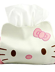 Cute Cat Tissue Kleenex Box Cover Cute Tissue Box Covers Made Of Leather