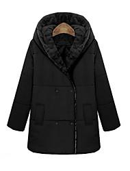 w.s.e vrouwen fshion ongedwongen kap warme jas