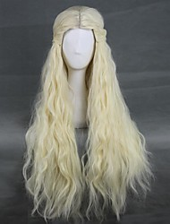 Cosplay Wigs More Costumes Movie Cosplay White Solid Wig Halloween / Christmas / New Year Female