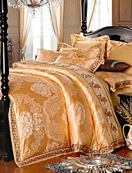 Gorgeous Jutecell jacquard Palace Luxury Four Piece Duvet Set