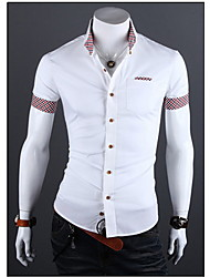 Playgame Men's Casual Short Sleeve Shirt