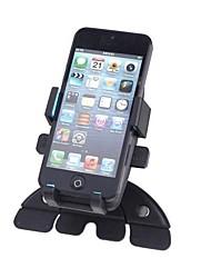 ranura cd de coche universal del sostenedor del montaje del soporte para el teléfono celular iphone gps rotativo de 360 grados