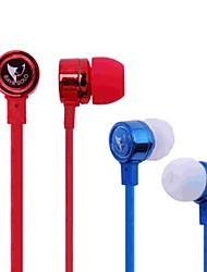 538 flat cable In-Ear Earphone with Microphone