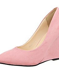 Women's Shoes Pointed Toe Wedge Heel  Pumps Shoes More Colors available