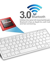 kemile Bluetooth3.0 draadloos toetsenbord voor pc mac macbook / ipad 3 4 / iphone / windows xp 7 8