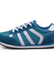 corriendo onke zapatos de mujer zapatillas de deporte de moda de imitación zapatos de gamuza más colores disponibles