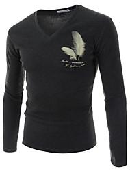Men's Casual Fashion V Neck T-Shirt