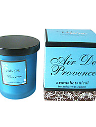 Blue Glass Fragrance Candle