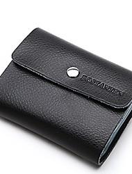 зерна кожаные сумки бумажник sanps кредитной карты bostanten унисекс в