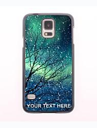 personalisierte Telefon-Fall - Schneeflocke Design Metallgehäuse für Samsung-Galaxie s5 Mini