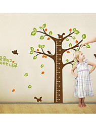 Wall Stickers Wall Decals, Style Large Tree Measure Your Hight PVC Wall Stickers