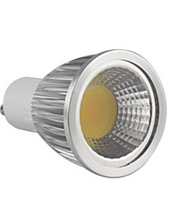 5.5w gu10 led spot mr16 1 cob 500-550 lm caldo dimmable bianco 220-240 v