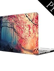 "Pink Autumn Forest Design Full-Body Protective Plastic Case for MacBook Pro 13""/15"" (Non-Retina)"