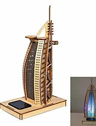 Yacht Hotel DIY цвета рисунок и автоматическое солнечной игрушки свет ощущение