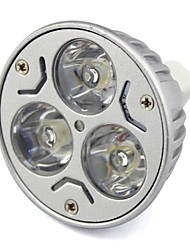 Dekorativ Spot Lampen MR16 GU5.3 3 W 300 LM white(5000-6500k) / warm white(2800-3500K) K 3 High Power LED Warmes Weiß/Kühles WeißDC 12/AC