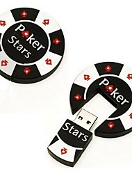 2gb poker fresco chip USB memory pen 20 Flash bastone di azionamento
