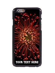 caso de telefone personalizado - dente de leão caso design de metal para o iPhone 6
