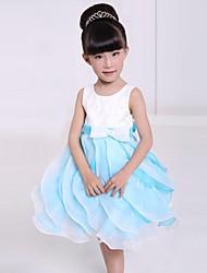 vestido de la princesa bouffant arco dulce manera de la muchacha