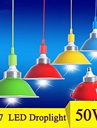 50w E27 LED Mining Lamp LED Pendant Light Supermarket Droplight SMD5730 AC85-265V