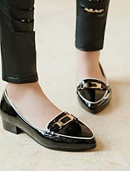 Women's Shoes Pointed Toe Chunky Heel Loafers Shoes More Coloers available
